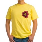 Lavender Eye Daylily Yellow T-Shirt