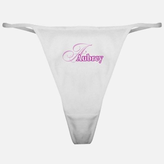 Aubrey Classic Thong