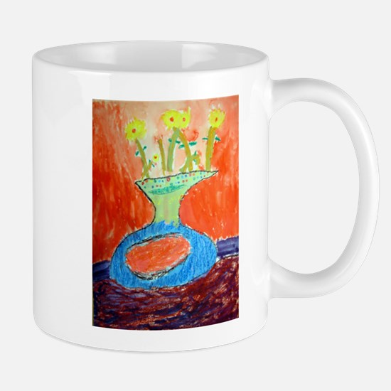 Flowers in Vase II Mug