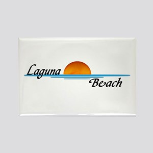 Laguna Beach Sunset Rectangle Magnet