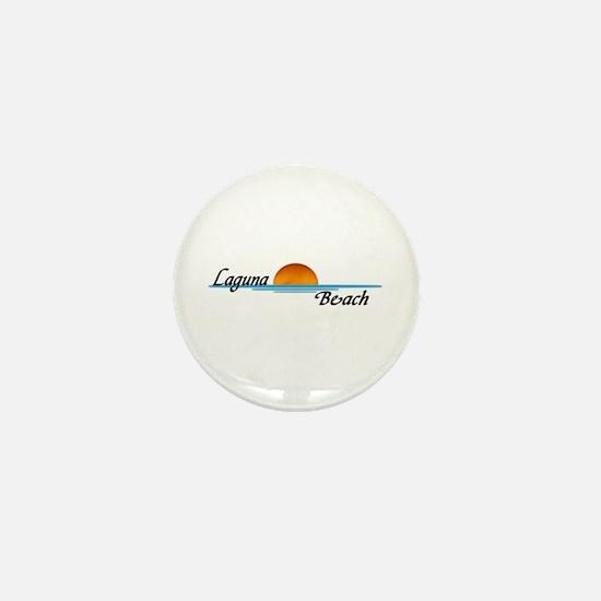 Laguna Beach Sunset Mini Button