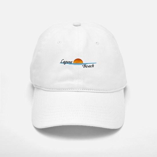 Laguna Beach Sunset Baseball Baseball Cap