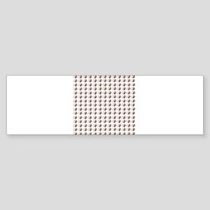 bichon frise's are #1 Bumper Sticker