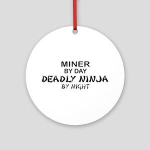 Minor Deadly Ninja Ornament (Round)