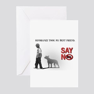 Ignorance took my best friend Greeting Cards (Pack