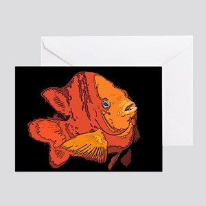 Garibaldi Fish Greeting Card