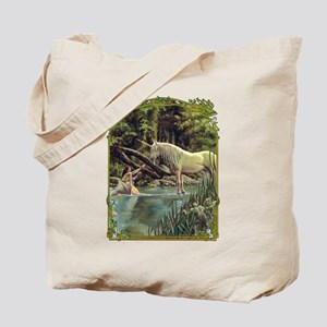 Unicorn in Woods Tote Bag