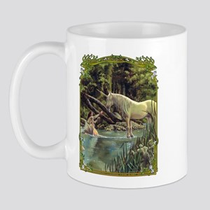 Unicorn in Woods Mug
