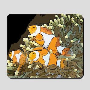 Clown Fish Mousepad