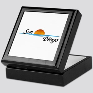San Diego Sunset Keepsake Box