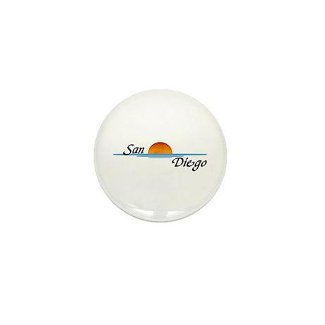 San Diego Sunset Mini Button (100 pack)