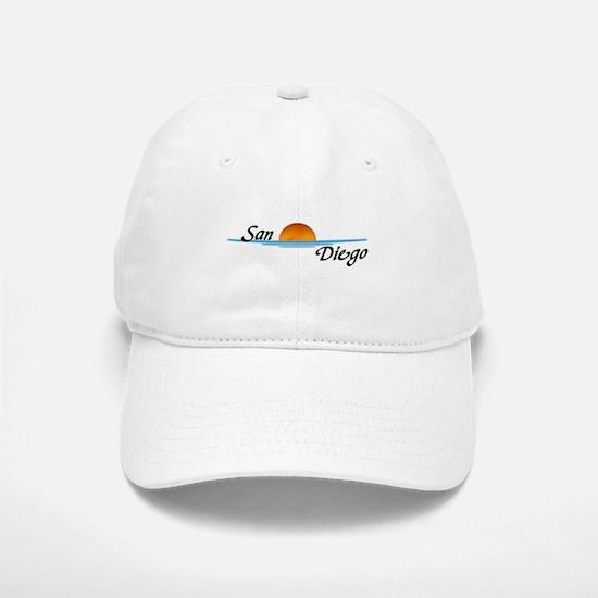 San Diego Sunset Baseball Baseball Cap