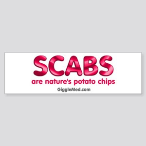 Scab Potato Chips Bumper Sticker