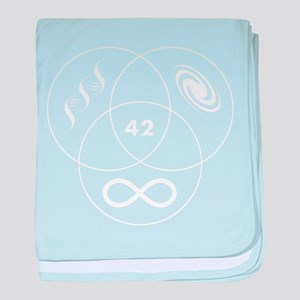 Venn Guide to the Galaxy baby blanket