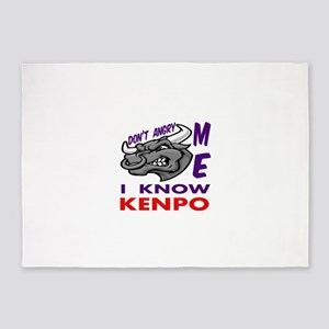 I know Kenpo 5'x7'Area Rug