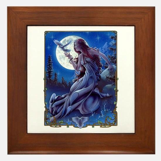 Queen of Dreams Framed Tile