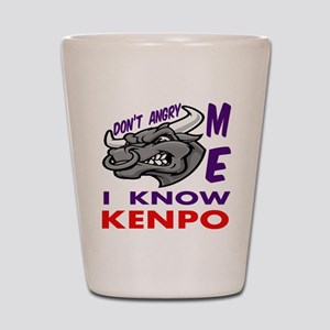 I know Kenpo Shot Glass