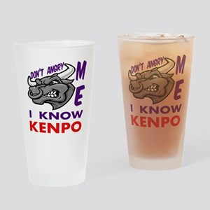 I know Kenpo Drinking Glass