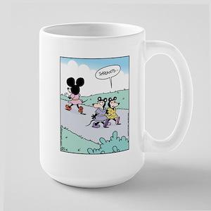 Mouse Implants Large Mug