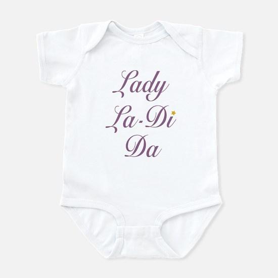 Lady La-Di-Da Infant Bodysuit