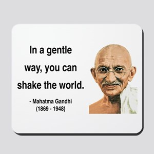 Gandhi 15 Mousepad