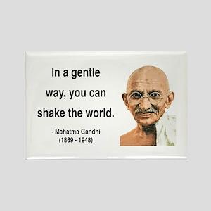 Gandhi 15 Rectangle Magnet