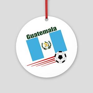 Guatemala Soccer Team Ornament (Round)