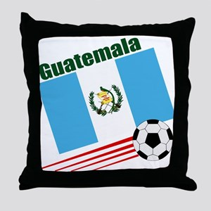 Guatemala Soccer Team Throw Pillow