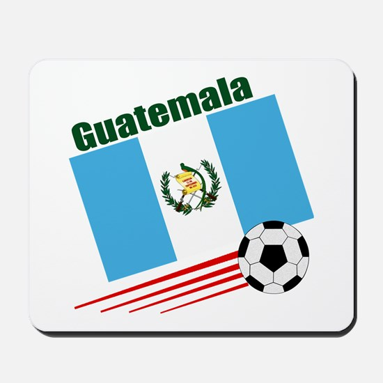 Guatemala Soccer Team Mousepad