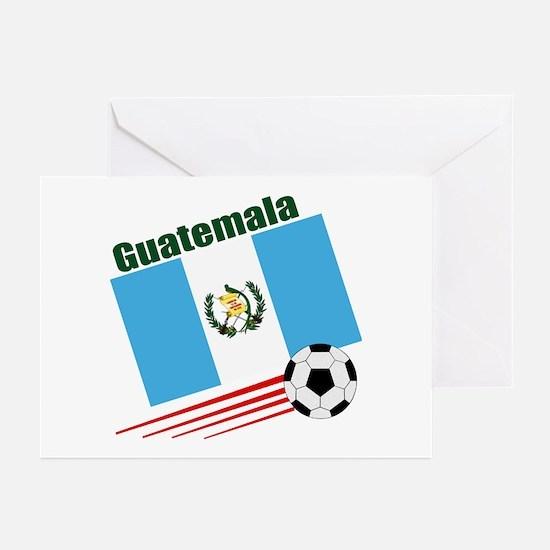 Guatemala Soccer Team Greeting Cards (Pk of 10)