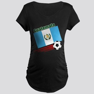 Guatemala Soccer Team Maternity Dark T-Shirt