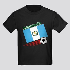 Guatemala Soccer Team Kids Dark T-Shirt