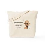 Gandhi 16 Tote Bag