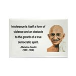 Gandhi 16 Rectangle Magnet (100 pack)