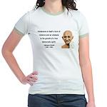 Gandhi 16 Jr. Ringer T-Shirt
