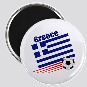 "Greece Soccer Team 2.25"" Magnet (10 pack)"