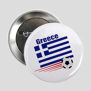 """Greece Soccer Team 2.25"""" Button (10 pack)"""