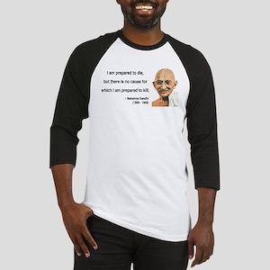 Gandhi 17 Baseball Jersey