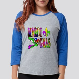 Mardi Gras with Gator Long Sleeve T-Shirt