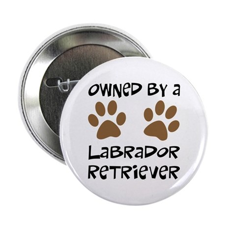 """Owned By A Lab... 2.25"""" Button"""