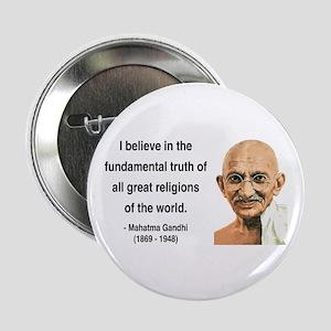 """Gandhi 20 2.25"""" Button"""