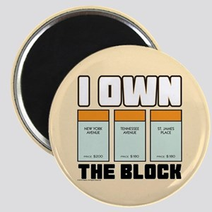 Monopoly - I Own The Block Magnet