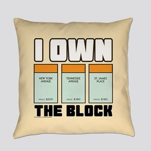 Monopoly - I Own The Block Everyday Pillow