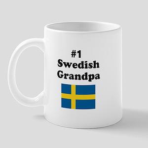 #1 Swedish Grandpa Mug