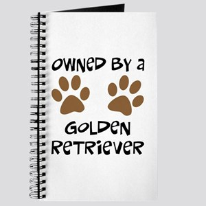 Owned By A Golden... Journal