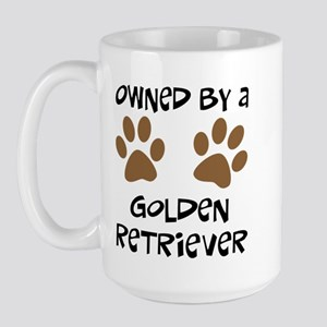 Owned By A Golden... Large Mug