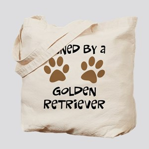 Owned By A Golden... Tote Bag