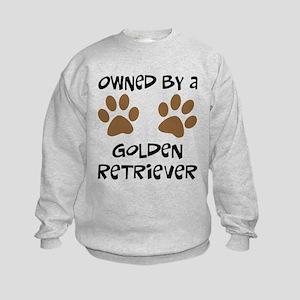 Owned By A Golden... Kids Sweatshirt
