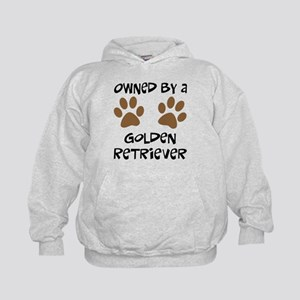 Owned By A Golden... Kids Hoodie