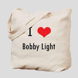 I love Bobby Light Tote Bag